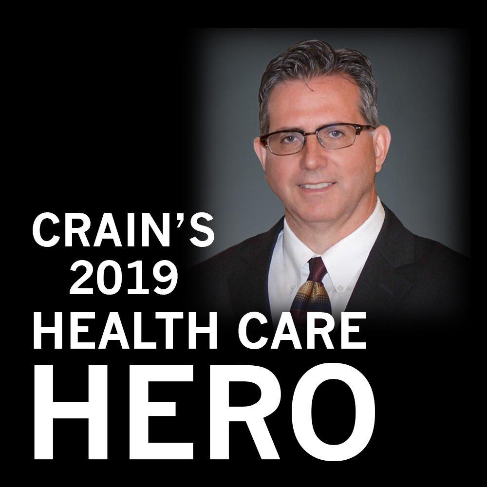Philip Muccio - Crain's 2019 Health Care Hero